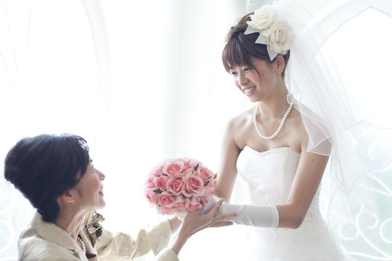 結婚式直前